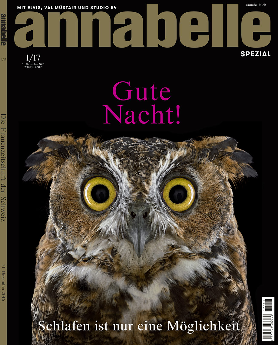 Annabelle Magazine cover by fine art animal photographer Brad Wilson