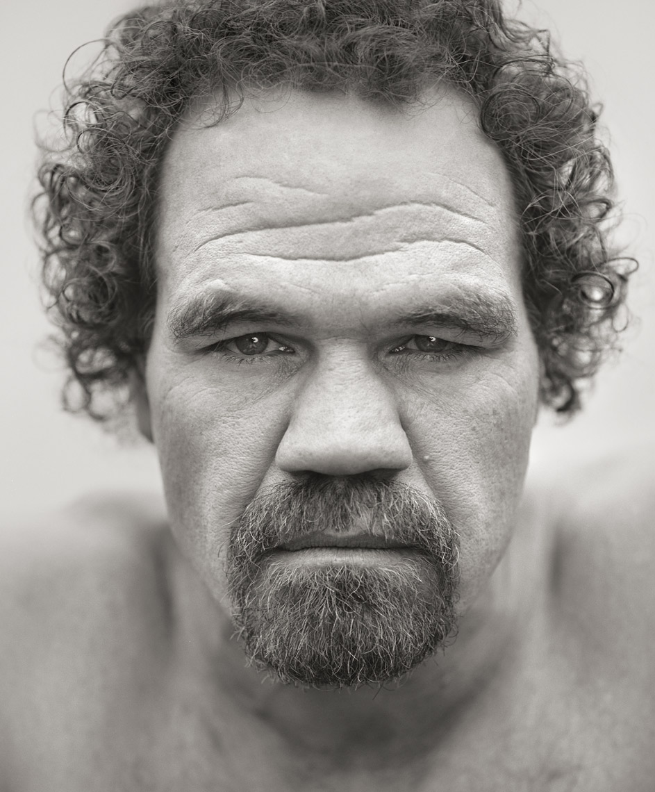 Portrait of actor Randall Tex Cobb